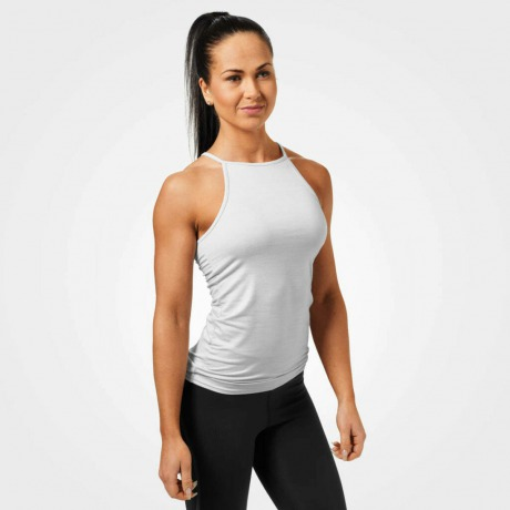 Спортивный топ Better Bodies Performance Halter, White Melange