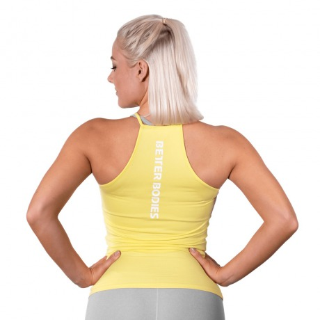 Спортивный топ Better Bodies Performance Halter, Lemon Yellow