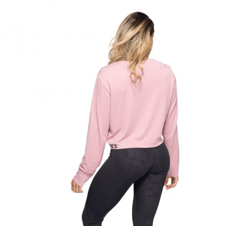 Лонгслив Better Bodies Rockaway Seamless Long Sleeve, Heather Pink