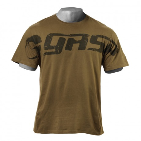 Футболка GASP Original tee LIMITED EDITION Bazili0, Military olive