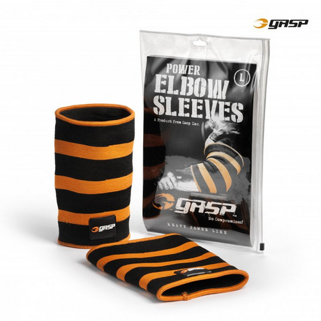 Налокотники Gasp Power Elbow Sleeves, Black/flame