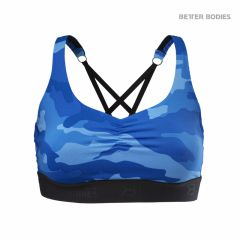 Спортивный топ Better Bodies Athlete Short Top, Blue Camo