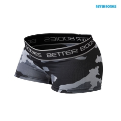 Спортивные шорты Better Bodies Fitness Hot Pant, Grey Camoprint