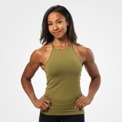 Спортивный топ Better Bodies Performance Halter, Military Green