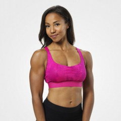 Спортивный топ Fitness Short Top, Pink Print
