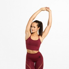 Спортивный топ Better Bodies Astoria seamless bra, Sangria red