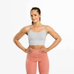 Спортивный топ Better Bodies Astoria seamless bra, Frost Grey