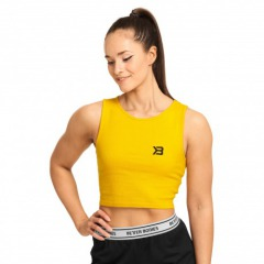 Укороченный топ Better Bodies Astoria laced tank, Yellow