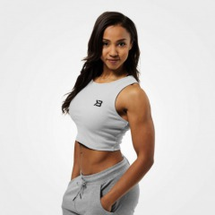 Укороченный топ Better Bodies Astoria laced tank, Frost grey