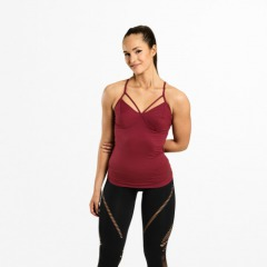 Спортивный топ Better Bodies Waverly Strap Top, Sangria Red