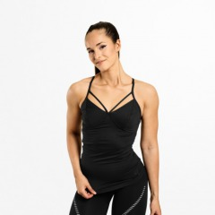Спортивный топ Better Bodies Waverly Strap Top, Black