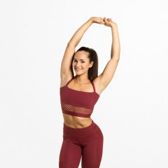 Спортивный топ Better Bodies Waverly Mesh Bra, Sangria Red