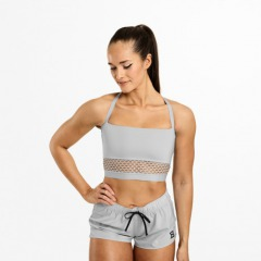Спортивный топ Better Bodies Waverly Mesh Bra, Frost Grey