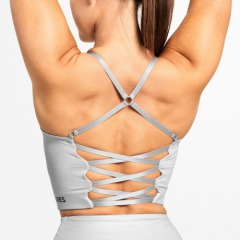 Спортивный топ Better Bodies Vesey Strap Top, Frost Grey