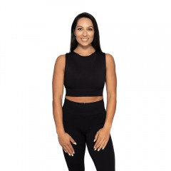 Спортивный топ Roxy Seamless Top, Black