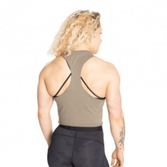 Борцовка Better Bodies Fluid Loose Racerback, Washed Green