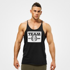 Спортивная майка Better Bodies Team BB Stringer, Black