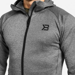 Толстовка Better Bodies Essex Power Hood, Dark Grey Melange