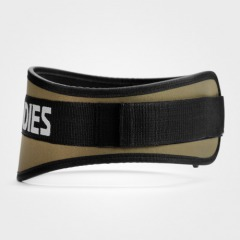 Неопреновый пояс Better Bodies Basic Gym Belt, Khaki Green