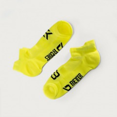 Носки Better Bodies Short Socks 2-pack, Neon Yellow