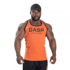 Спортивная майка GASP  Ribbed T-Back, Flame