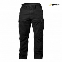Уличные брюки GASP Rough Cargo Pants, Washed Black