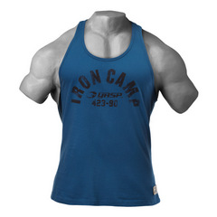 Спортивная майка GASP Throwback tank, Ocean blue