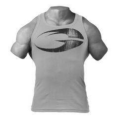 Спортивная майка GASP Original ribbed tank, Light grey