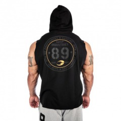 Безрукавка GASP Thermal SL Hoodie, Washed Black